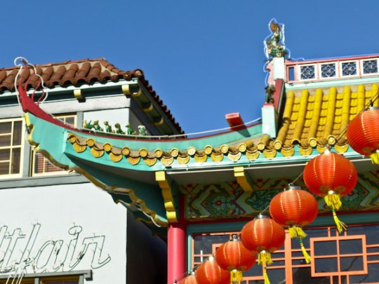 Building in Chinatown, Los Angeles