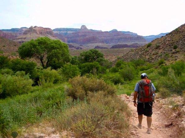 Hiking in the Grand Canyon | Best Men's Travel Underwear: ExOfficio Underwear vs. ScottEvest Underwear