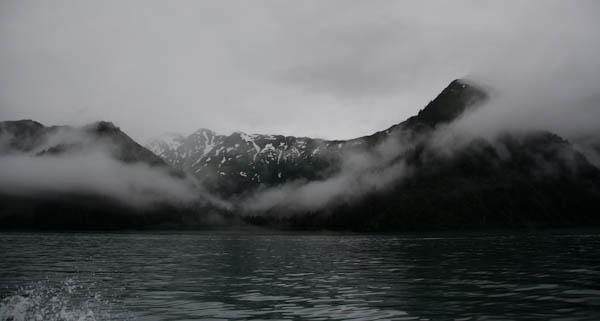 Clouds On Resurrection Bay, Alaska