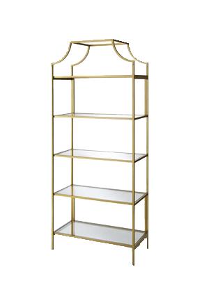 gold etagere bookshelf walmart girls room