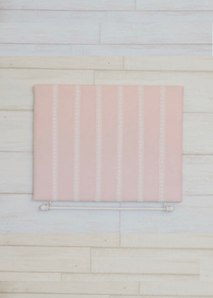 pink frame ribbon bow holder decor home girls evie ayla etsy