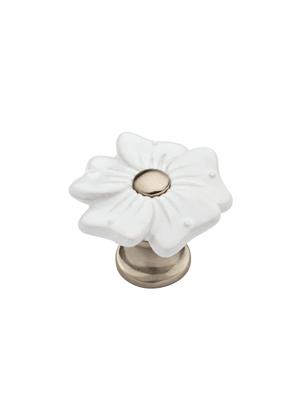 white flower knobs diy home decor drawers pulls lowes