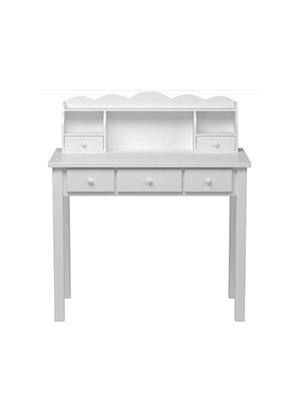 white scallop desk evie room amazon