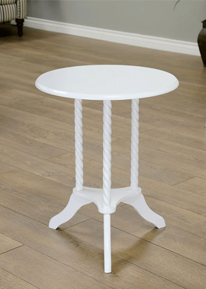 white side table girls room amazon