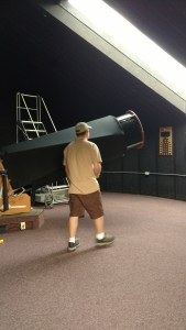 Setting up the Telescope at Bruneau Dunes Observatory