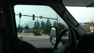 So Smokey you can't see the mountains