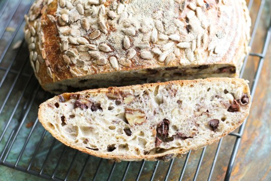 Filled with walnut, olive, sunflower seeds and herbs de Provence