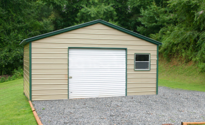 Single Car Garages By Eversafe Buildings