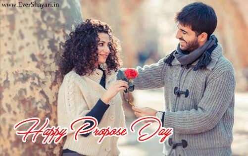 Happy Propose Day Hindi Shayari For Gf And Bf