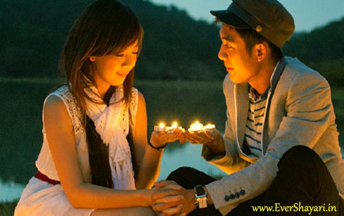 Romantic Diwali Shayari Sms In Hindi For Girlfriend Boyfriend