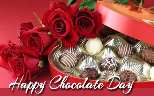 Happy Chocolate Day Image