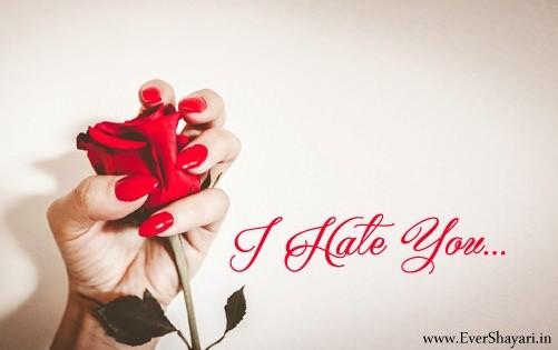 Nafrat Shayari For Girlfriend Boyfriend | Hate Sms In Hindi