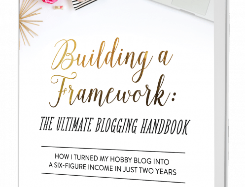 Building a Framework- Just a Girl and Her Blog