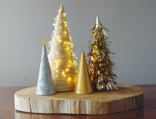 Christmas Tree Centrepiece | Get Crafty this Christmas | Find more at EverSoBritty.com
