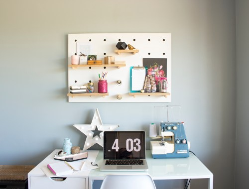 Craft room / home office tour - Creative space with Ever So Britty