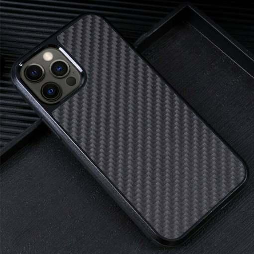 Real Carbon Fiber iPhone 12 Pro Max Case