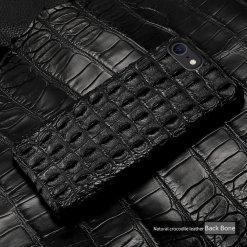 Genuine Crocodile Skin iPhone Case – Backbone Hornback