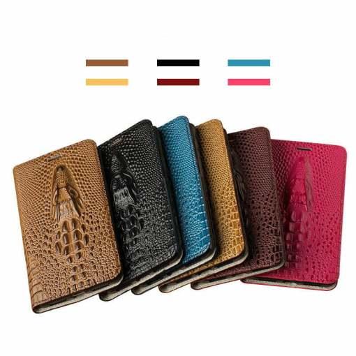 Grain Leather Flip 3D Case for iPhone 12 Pro Max