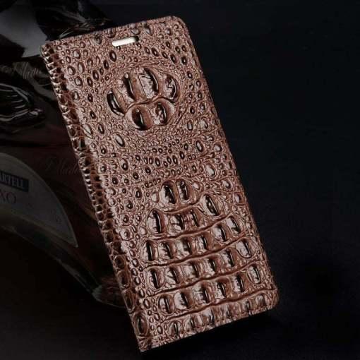 Genuine Leather Flip Case For iPhone 12 Mini 11 Pro Max XS max 8 7 Plus