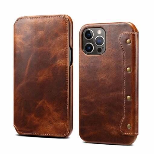 Genuine Leather Flip Case