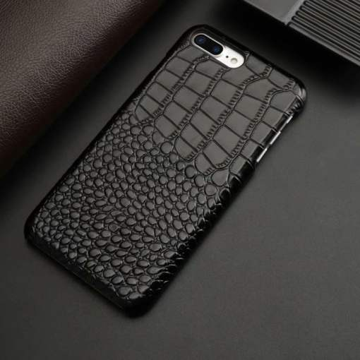 Crocodile Embossed Leather Case for iPhone 6 Plus