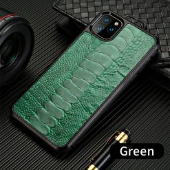 Ostrich Leather Case
