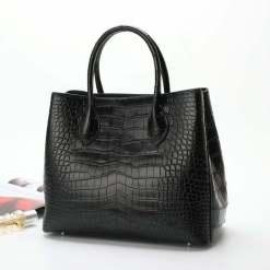 Women's Crocodile Leather Handbags Alligator Clutch