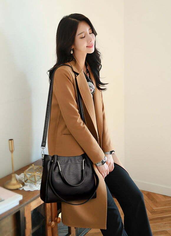 Leather Shoulder Strap Crossbody Shoulder Bag