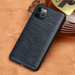 Lizard Skin Pattern Leather Case for iPhone 12 Pro Max