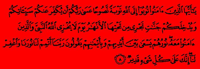 Tawbatun Nasuha: Sincere Repentance « YasSarNalQuR'aN