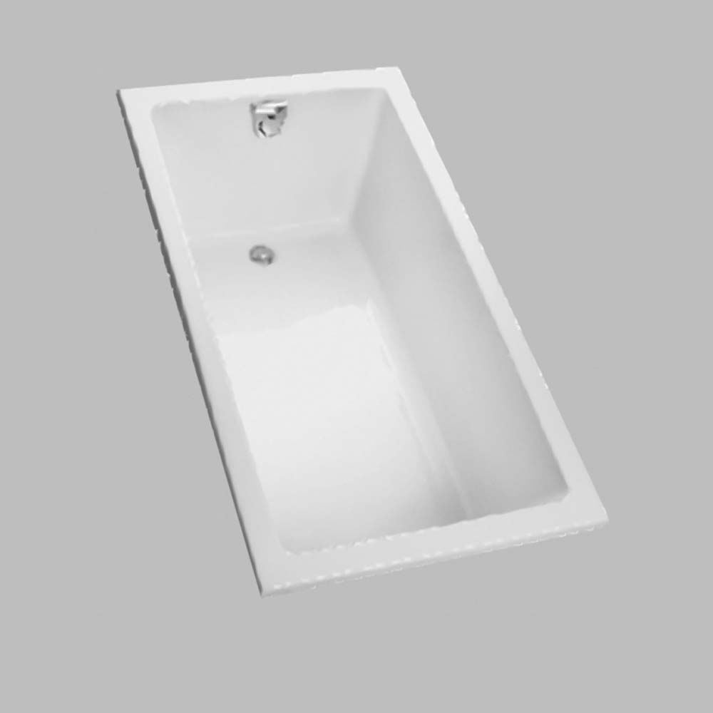 TOTO 60 Enameled Cast Iron Drop In Bathtub Free Shipping
