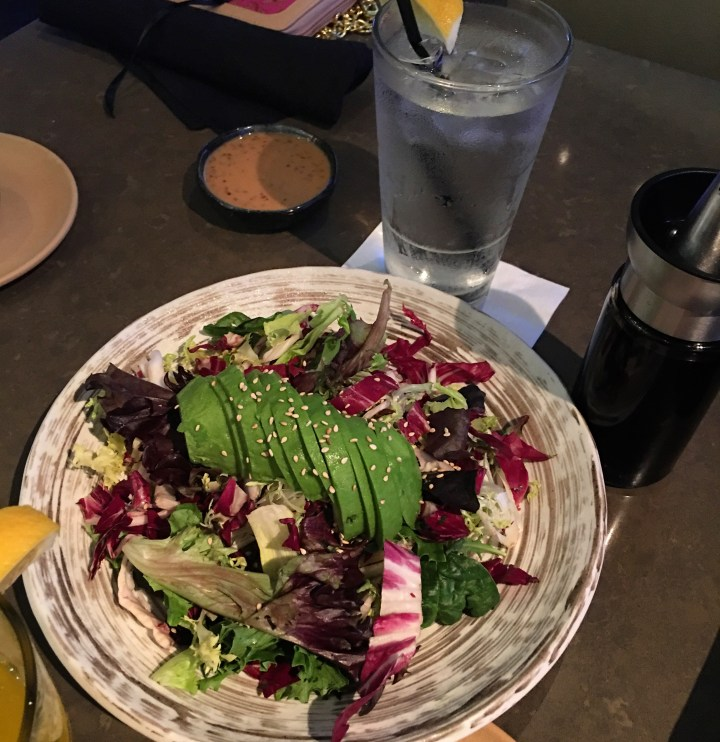 Avocado Salad at Vitascope Hall- Simple, Fresh, Delicious