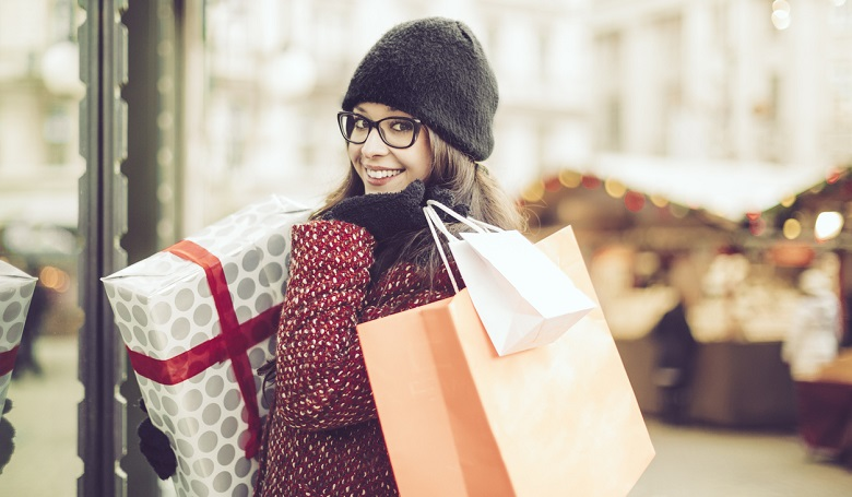 saving money on Christmas shopping, saving money for the holidays, affordable holidays