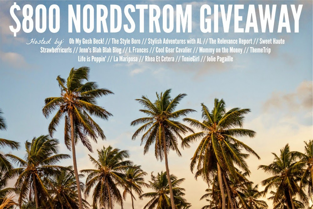 Nordstrom Gift Card Giveaway!!