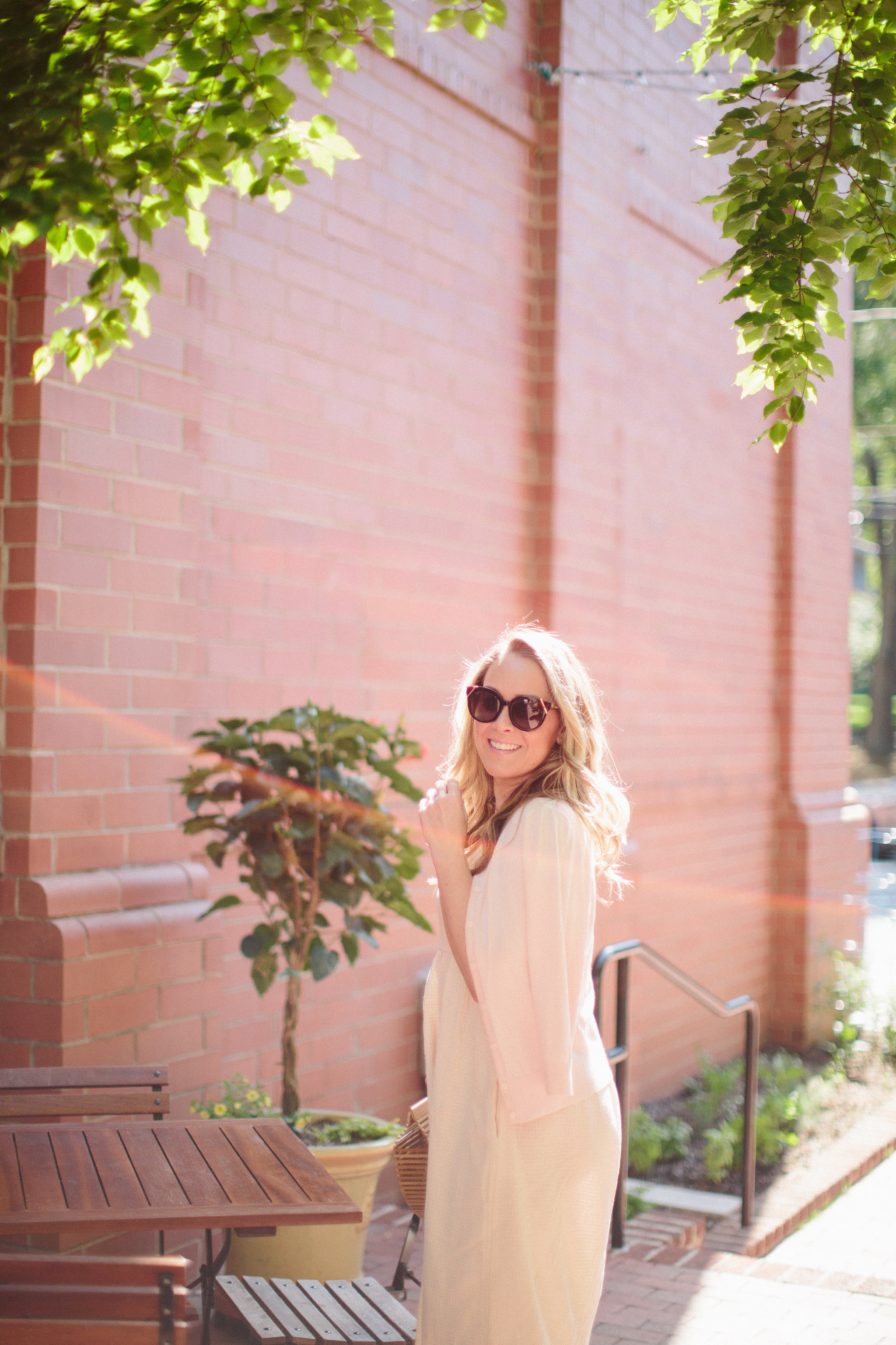 Casual Midi Dress & 10 Things You May Not Know About Me by Charlotte fashion blogger Every Chic Way