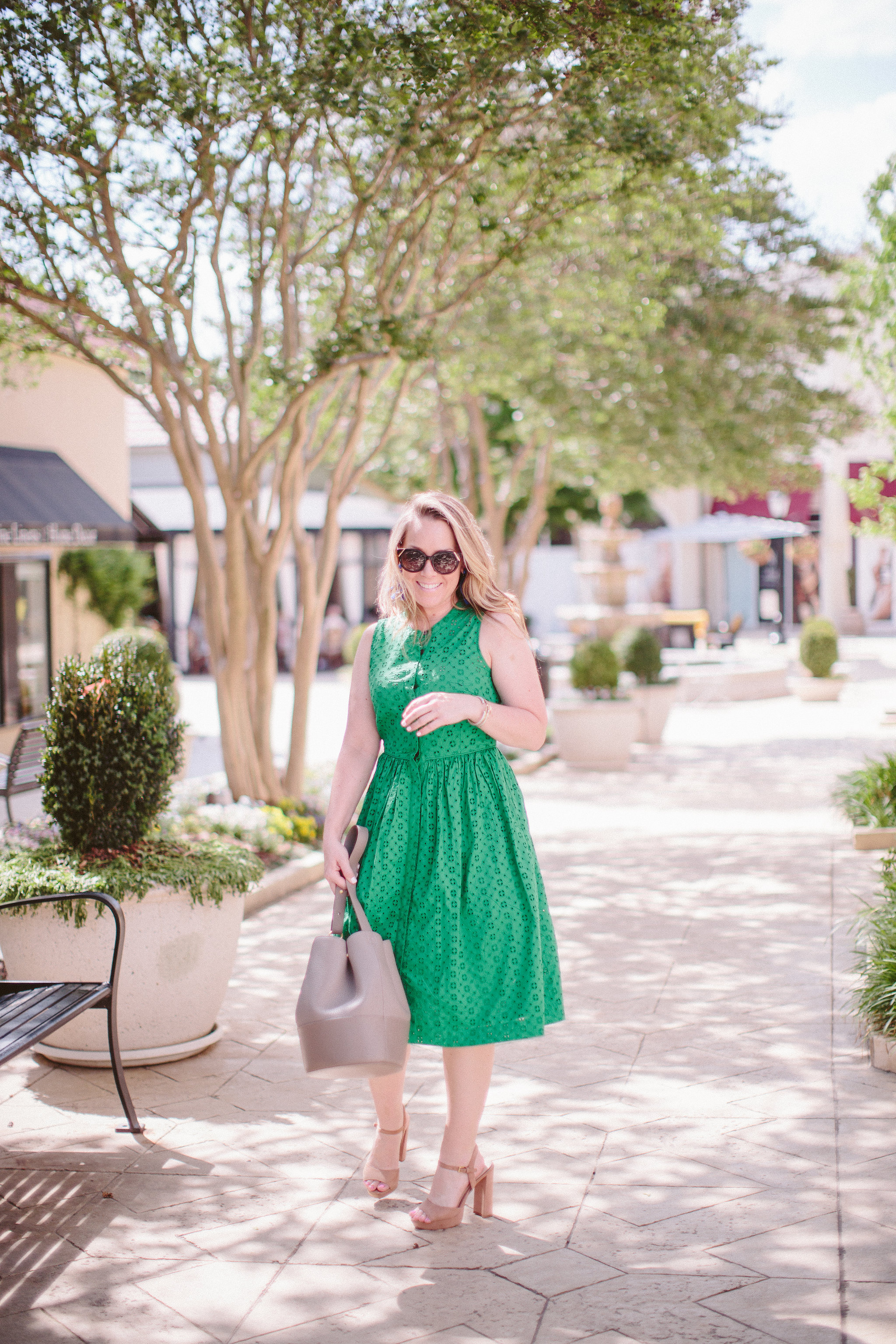 Eyelet Dress From J Crew My Style Every Chic Way