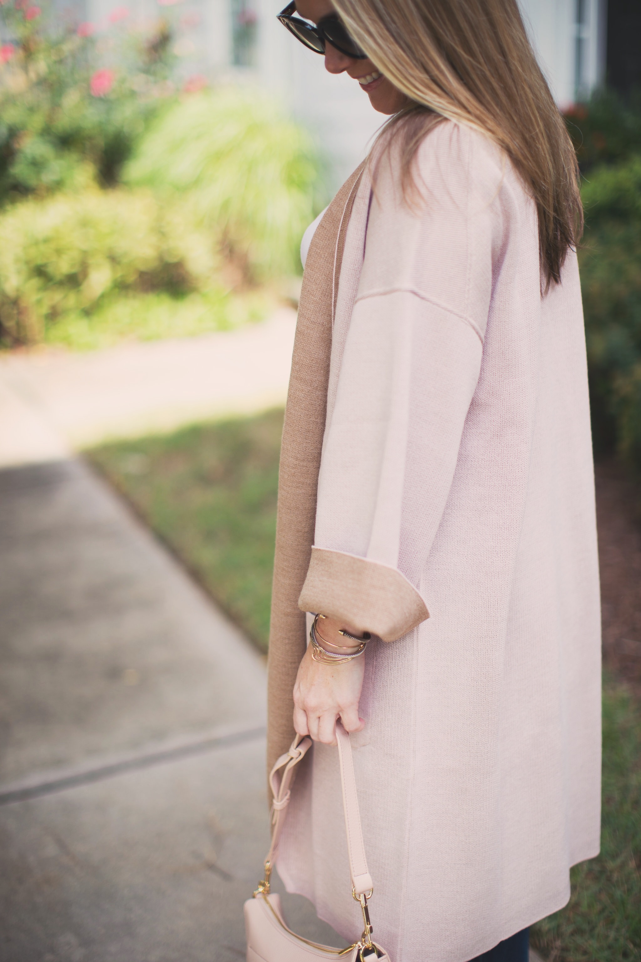 The perfect Cuyana hobo bag for Fall by NC style blogger Every Chic Way