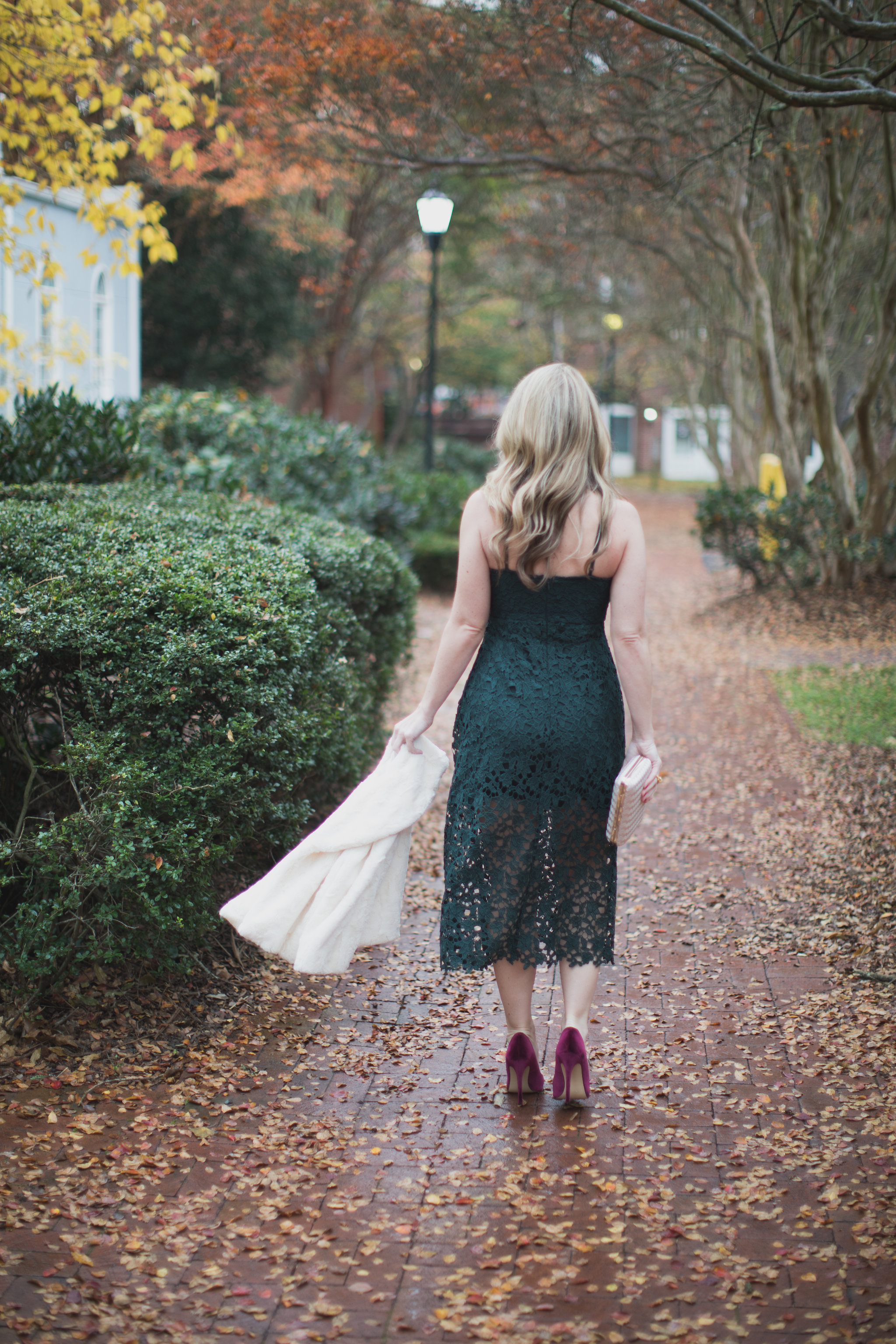 The perfect holiday dress under $100 on ECW today! - The Perfect Holiday Dress under $100 by North Carolina fashion blogger Every Chic Way