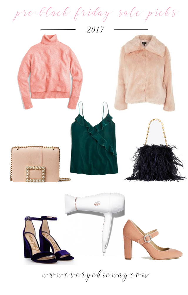 The Ultimate List of Pre Black Friday Sales by North Carolina fashion blogger Every Chic Way