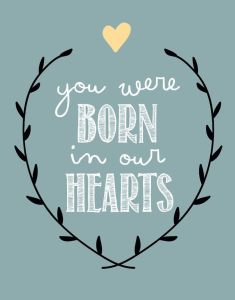 Born in our hearts