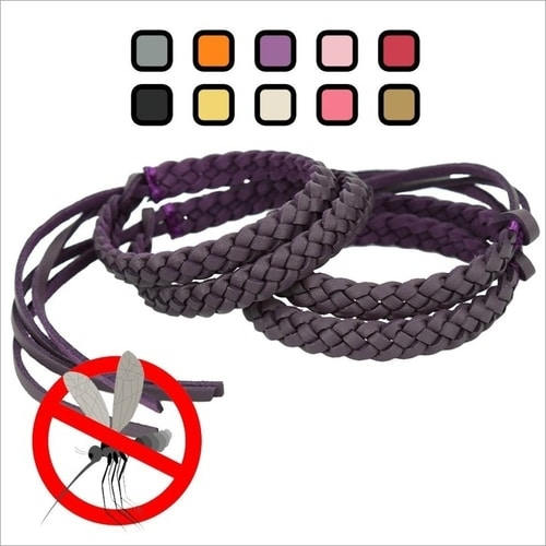Best Essential Camping Gear List - Insect Repellent Bracelets
