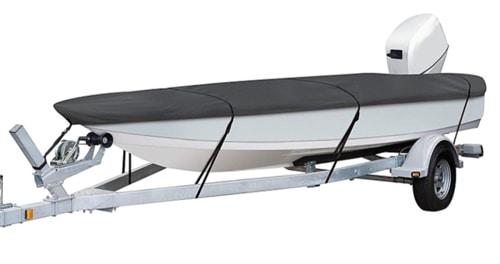Survival Fishing Boats - StormPro Heavy Duty Utility Boat Cover