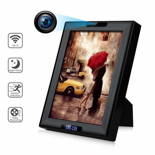 Real Spy Gadgets - Wireless Hidden Spy Camera Photo Frame