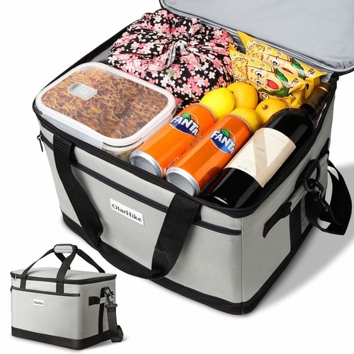 5 Tips For Storing Food While Camping - 30L Large Cooler Bag
