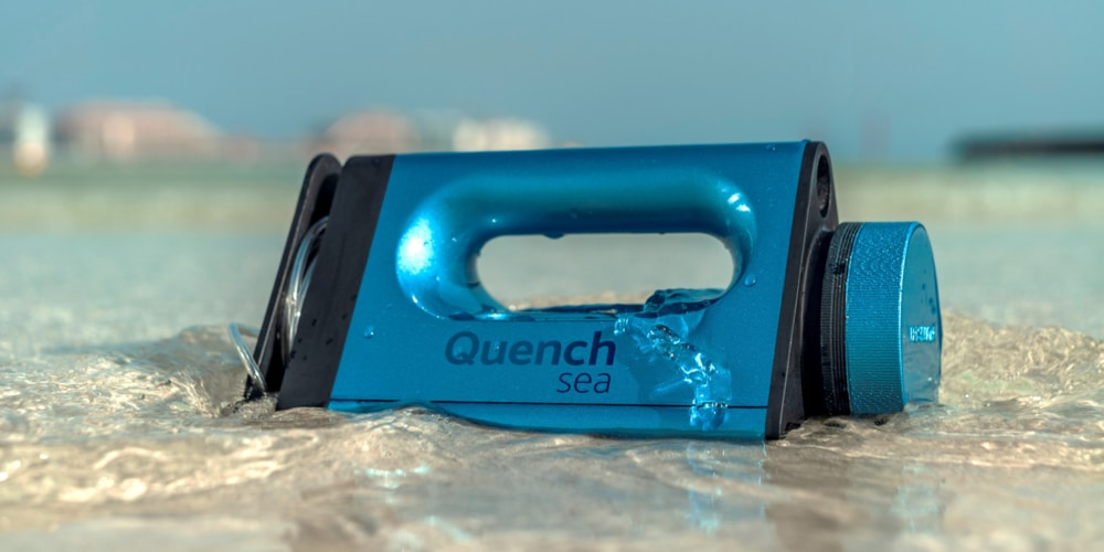 Quench Sea Desalination Device