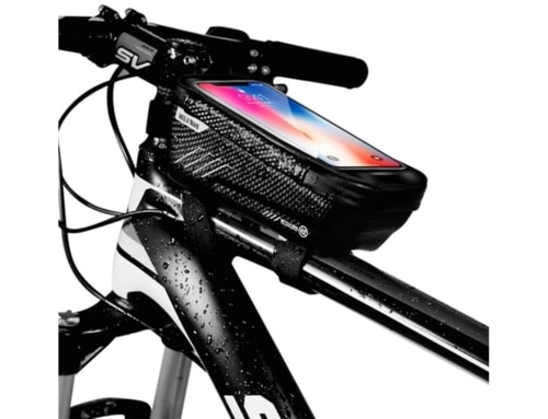 Best Electric Bike For Carrying Everyday Carry Gear - Bike Phone Mount Bag