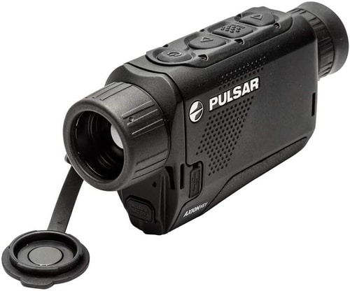 Minoculars vs Binoculars - Pulsa Axion Key Thermal Monocular