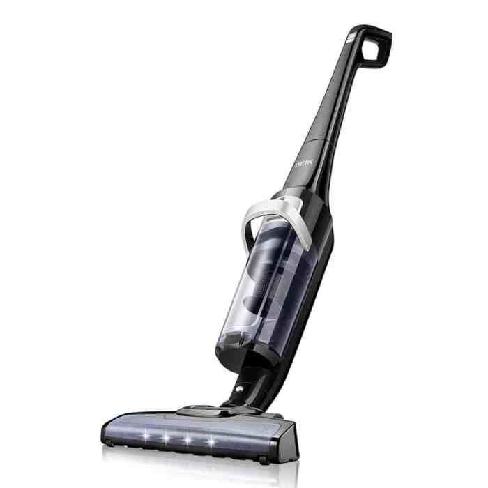 Deik Vacuum Cleaner, Cordless Vacuum Cleaner with 28.8V Li-ion Battery
