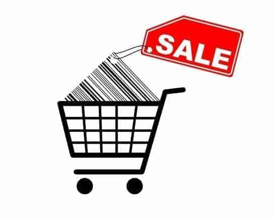 Shopping-Cart-Sale