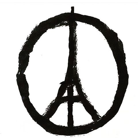 #prayforparis In front of this horror, not words, not signals of hate: solidarity for France.